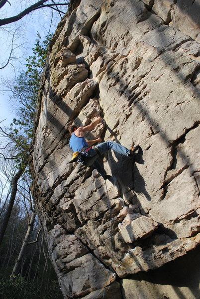 Rock Climbing Photo: good short 11a