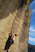 Rock Climbing Photo: Beautiful line