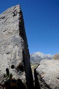 Rock Climbing Photo: Alabama Hills, Shark Fin Aret