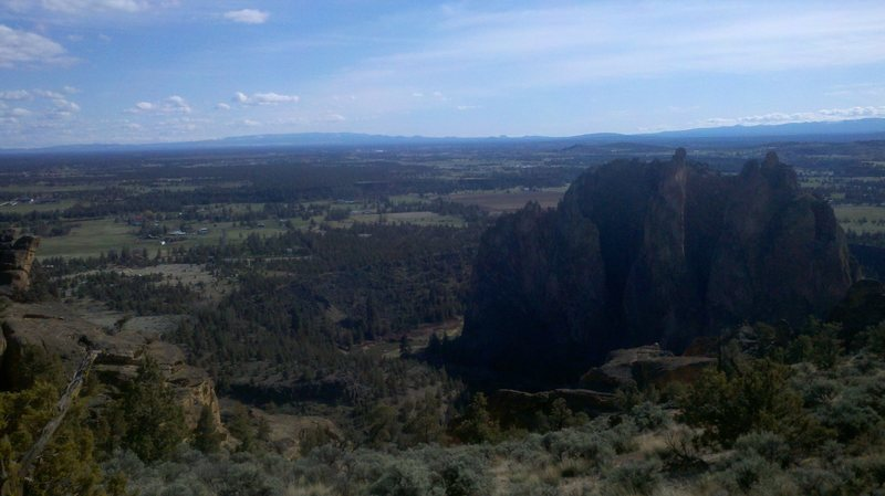 Smith Rock Group from Misery Ridge