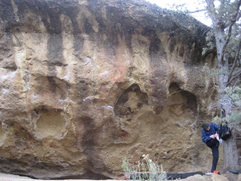 Gorilla Cliff Boulder