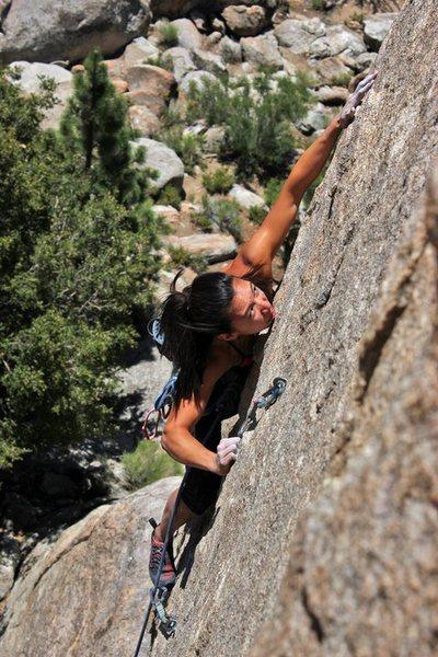 Rock Climbing Photo: Myself on Doc's Holiday