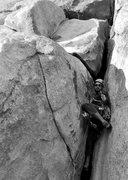 Rock Climbing Photo: Toss up the #4!