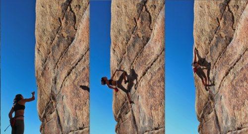 Rock Climbing Photo: Myself on High Noon - Natalie Duran