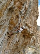Rock Climbing Photo: Doug Cornick making it look easy on his third and ...