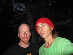 Rock Climbing Photo: my best frend .. an bigest insperation