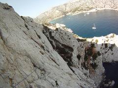 Rock Climbing Photo: Sormiou