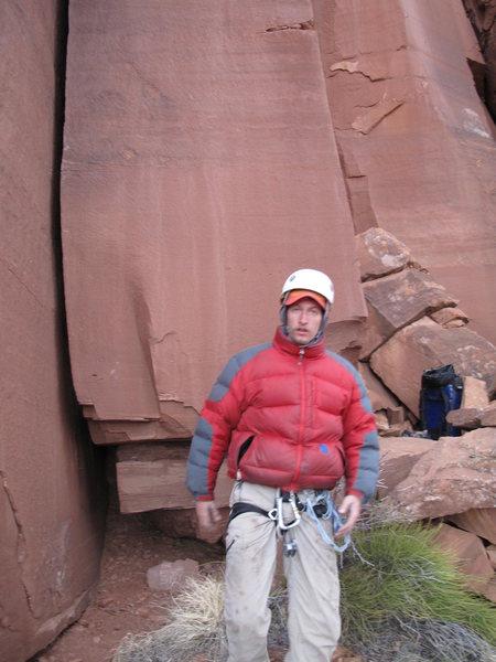 Rock Climbing Photo: Nick.