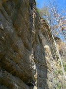 Rock Climbing Photo: fire and brimstone