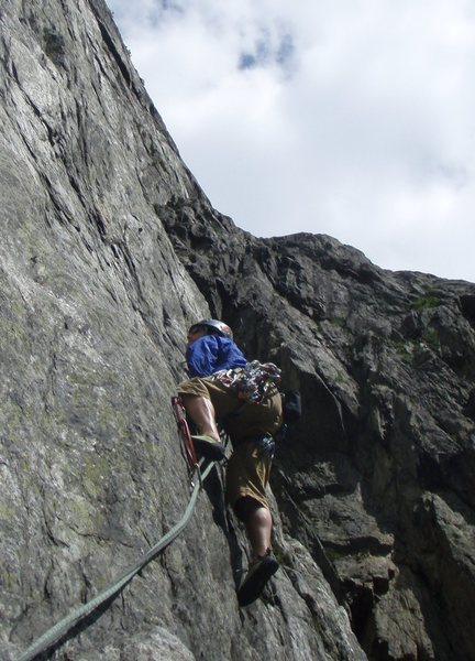 Nice Gneiss route in Suisse