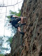 Rock Climbing Photo: military area. route unknown...
