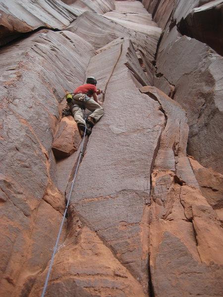 Rock Climbing Photo: Starting up Electronic Battleship