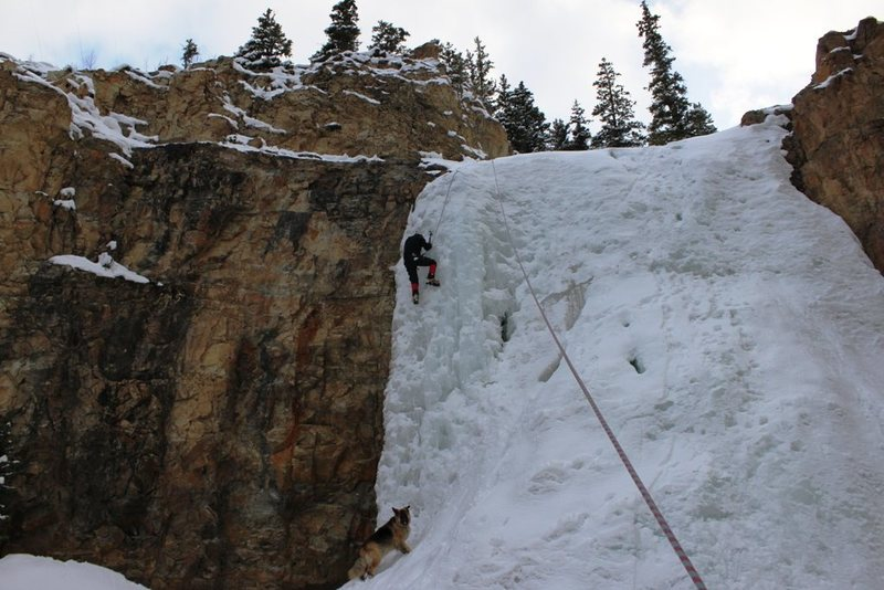 Rock Climbing Photo: Chalk Creek, 04.16.12.