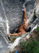 Rock Climbing Photo: Joel on Chamaco Pendejo 5.11