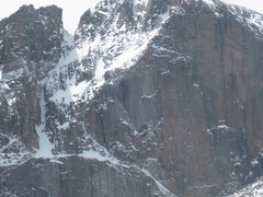 Rock Climbing Photo: Long's Peak, 04-17-12.