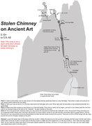 Rock Climbing Photo: Stolen Chimney/Ancient Art Topo  I climbed the rou...