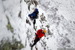 Rock Climbing Photo: Mark Richey and Freddie Wilkinson new routing to t...