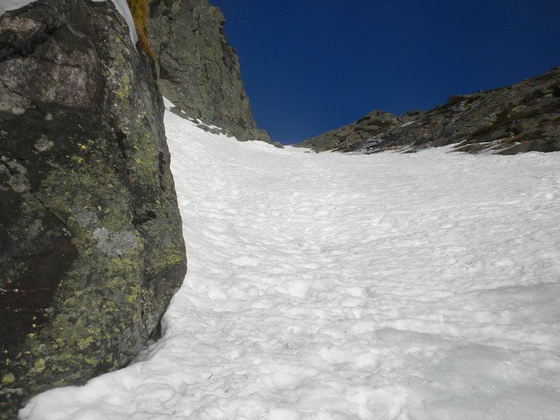 Great long ski line