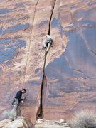 Rock Climbing Photo: Marcus on the FA
