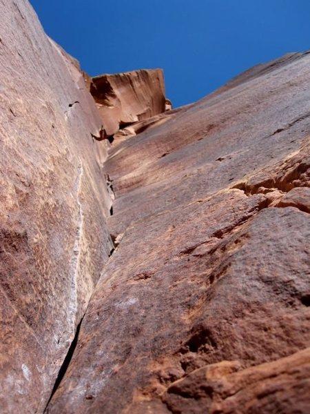 Rock Climbing Photo: © Matt Hoffmann - Binou's Crack
