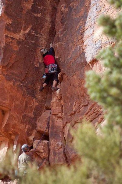 Rock Climbing Photo: © Mick Wu - Kyle on Reau Cham Beau