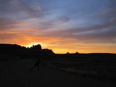 Rock Climbing Photo: © Matt Hoffmann - Sunset