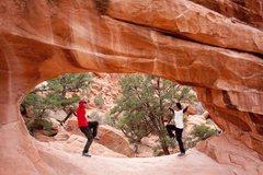 Rock Climbing Photo: © Mick Wu - Double O Arch