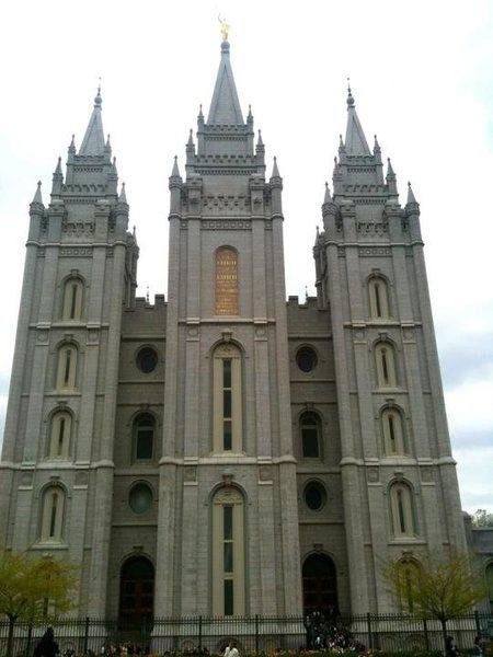 © Matt Hoffmann - Mormon temple