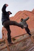Rock Climbing Photo: © Mick Wu - Don't ask...