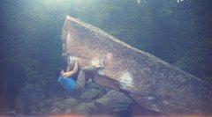 Rock Climbing Photo: Turning Point V8...Amazing problem!!