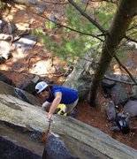 Rock Climbing Photo: Glorious thin hands.