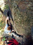 Rock Climbing Photo: Chris Keller on Decapitation.