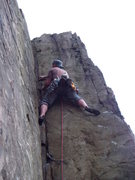Rock Climbing Photo: Such a great crack....if only it was a full rope l...
