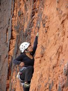 Rock Climbing Photo: Red Rock, First Pullout - Panty wall
