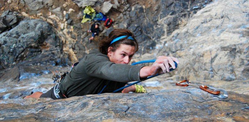 Rock Climbing Photo: Brandon Conaway on Reefer Madness.