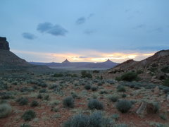 Rock Climbing Photo: Both North and South Six Shooter from the OMW park...