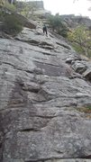 Rock Climbing Photo: First pitch of CCK goes through here, not too toug...