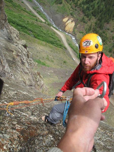 Rock Climbing Photo:  helping hand