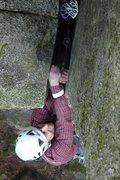 Rock Climbing Photo: GURR!