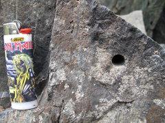 Rock Climbing Photo: rock art modern day