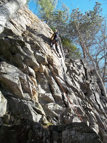 Rock Climbing Photo: Me on Frosted Flakes