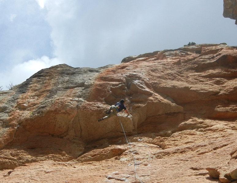 Rock Climbing Photo: jugs!