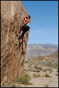 Rock Climbing Photo: Amy Jo Ness bouldering at Alabama Hills. Photo by ...
