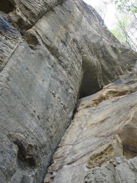 Rock Climbing Photo: Gluttony.