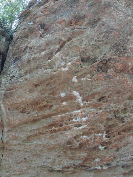 Rock Climbing Photo: Stunning the Hog.