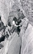Rock Climbing Photo: The whole FFA sequence...