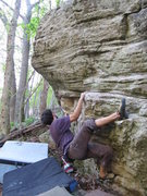 "Rock Climbing Photo: Jonathan on ""Physical Therapy"" on the Co..."