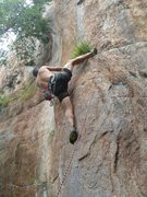 Rock Climbing Photo: Red Wall  Silence The Critics (5.12)sport  Crowder...