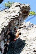 Rock Climbing Photo: Trundlasaurus Wall  Dewey Used to Love It (5.10) s...