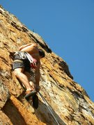 Rock Climbing Photo: Red Wall  Master Beta (5.10) sport  Crowders Mount...